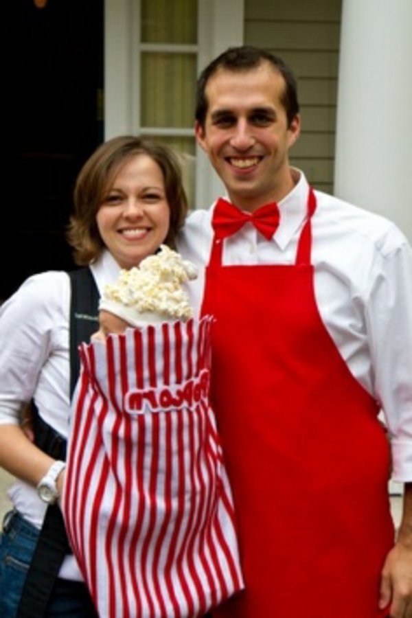 Faschingskostume Ideen Karneval Verkleidung Popcorn Familie